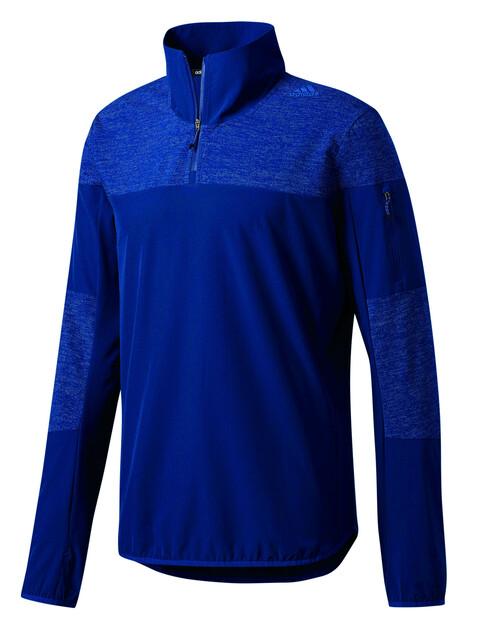 adidas Supernova Storm 1/2 Zip Shirt Men mystery blue